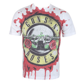 t-shirt metal men's Guns N' Roses - Blood Drip - ROCK OFF,