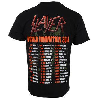 t-shirt metal men's Slayer - SOLDIER CROSS 2014 DATEBACK - ROCK OFF, ROCK OFF, Slayer