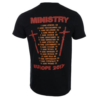 t-shirt metal men's Ministry - Hot Rod - ROCK OFF, ROCK OFF, Ministry