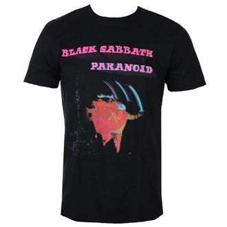 t-shirt metal men's Black Sabbath - Paranoid Motion Trails - ROCK OFF, ROCK OFF, Black Sabbath