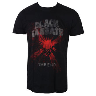 t-shirt metal men's Black Sabbath - The End Skull Shine - ROCK OFF, ROCK OFF, Black Sabbath