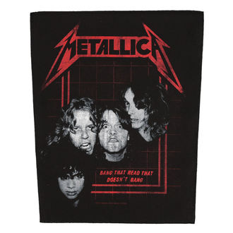patch large METALLICA - BANG THAT HEAD - RAZAMATAZ, RAZAMATAZ, Metallica
