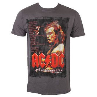 t-shirt metal men's AC-DC - Donington Set List - ROCK OFF, ROCK OFF, AC-DC
