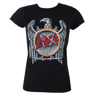 t-shirt metal women's Slayer - Silver Eagle - ROCK OFF - SLAYTEE02LB