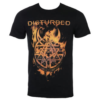 t-shirt metal men's Disturbed - Burning Belief - ROCK OFF, ROCK OFF, Disturbed