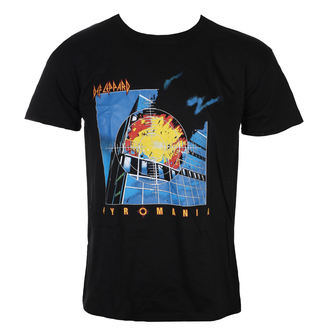 t-shirt metal men's Def Leppard - Pyromania - ROCK OFF, ROCK OFF, Def Leppard