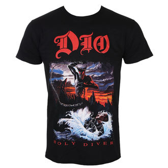 t-shirt metal men's Dio - Holy Diver - ROCK OFF, ROCK OFF,
