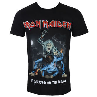 T-shirt Men's Iron Maiden - No Prayer On The Road - Black - ROCK OFF, ROCK OFF, Iron Maiden