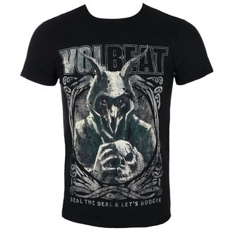 t-shirt metal men's Volbeat - Goat With Skull - ROCK OFF, ROCK OFF, Volbeat