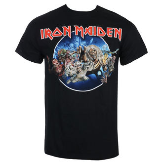 T-shirt Men's Iron Maiden - Wasted Years - Black - ROCK OFF, ROCK OFF, Iron Maiden