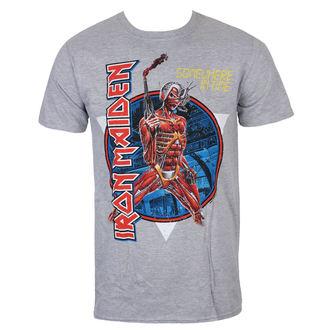 T-shirt Men's Iron Maiden - Somewhere In Time - Grey - ROCK OFF, ROCK OFF, Iron Maiden