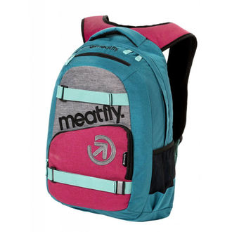 Backpack MEATFLY - EXILE 3 J - Ht.Turquoise / Ht.Rose, MEATFLY