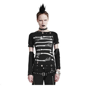 t-shirt gothic and punk women's - Dead Man - PUNK RAVE, PUNK RAVE
