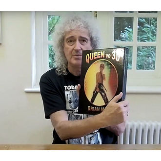 book QUEEN in 3D - Brian May, NNM, Queen