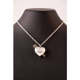 Necklace Dracula - Universal Monsters - Heart, NNM