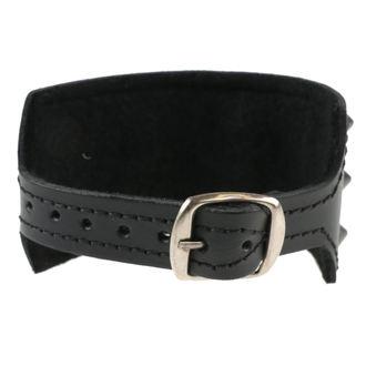 Bracelet Cones 3, BLACK & METAL