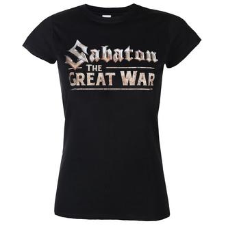 Metal T-Shirt women's Sabaton - The great war - NUCLEAR BLAST - 27961_Gr