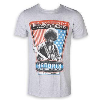 t-shirt metal men's Jimi Hendrix - Electric - ROCK OFF, ROCK OFF, Jimi Hendrix