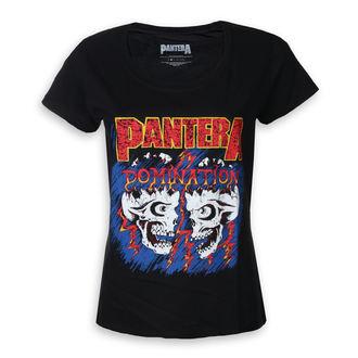 t-shirt metal women's Pantera - Domination - ROCK OFF, ROCK OFF, Pantera