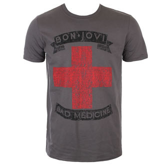 t-shirt metal men's Bon Jovi - BAD MEDICINE - PLASTIC HEAD, PLASTIC HEAD, Bon Jovi