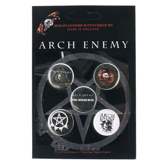 Pin Badges Arch Enemy - RAZAMATAZ, RAZAMATAZ, Arch Enemy
