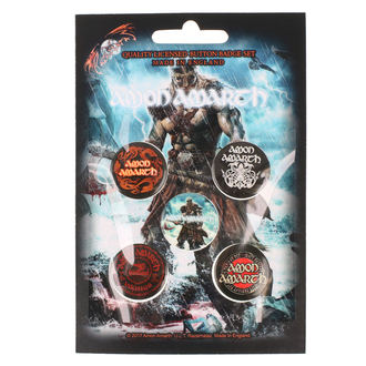 Pin Badges Amon Amarth - RAZAMATAZ - BB006