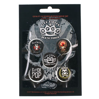 Pin Badges Five Finger Death Punch - RAZAMATAZ, RAZAMATAZ, Five Finger Death Punch