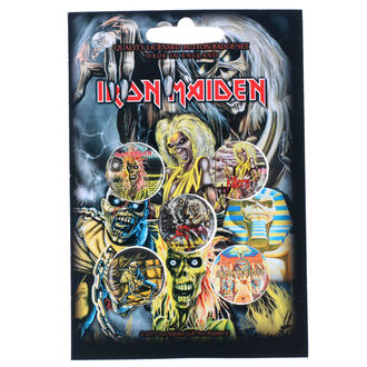 Pin Badges Iron Maiden - RAZAMATAZ