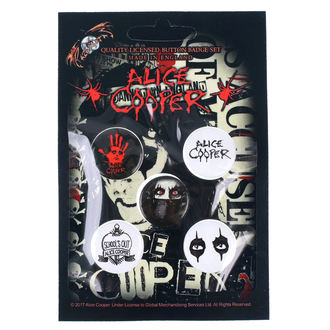 Pin Badges Alice Cooper - RAZAMATAZ, RAZAMATAZ, Alice Cooper