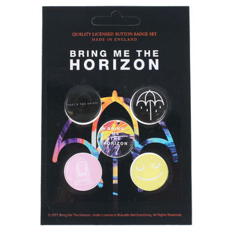 Pin Badges Bring Me The Horizon - RAZAMATAZ - BB013