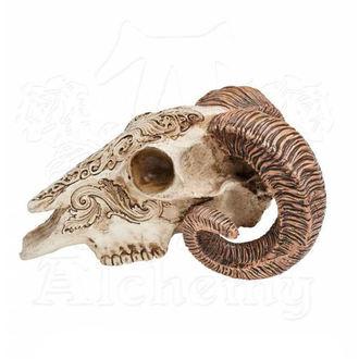 Decoration ALCHEMY GOTHIC - Skrimshaw Ram Skull, ALCHEMY GOTHIC