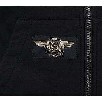 hoodie men's - CROSS PANEL - West Coast Choppers
