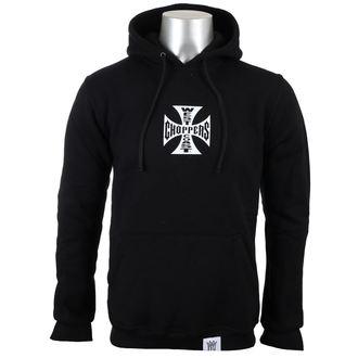 hoodie men's - OG CROSS - West Coast Choppers, West Coast Choppers