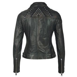 leather jacket women's - METTAL/BLACK - NNM, NNM