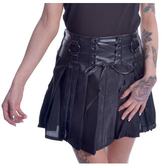 Women's skirt CHEMICAL BLACK - SIIRI - BLACK, CHEMICAL BLACK