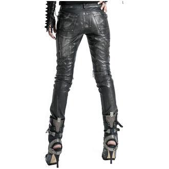Pants Women's PUNK RAVE - Therion - black / silver, PUNK RAVE