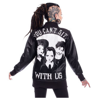 spring/fall jacket women's - SIT WITH US VARSITY - HEARTLESS, HEARTLESS