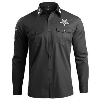 Shirt Men's with long sleeves AMENOMEN - BELIEVE IN YOURSELF