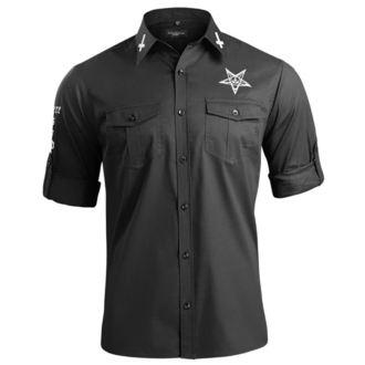 Shirt Men's with long sleeves AMENOMEN - BELIEVE IN YOURSELF, AMENOMEN