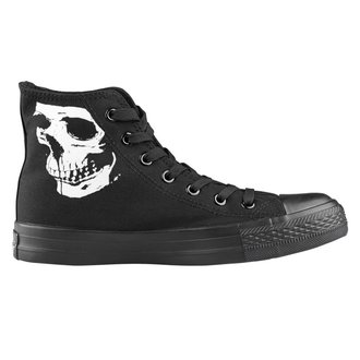 high sneakers unisex - Skull 2 - AMENOMEN, AMENOMEN