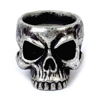 Candle holder (decoration) ALCHEMY GOTHIC - Skull Tea, ALCHEMY GOTHIC
