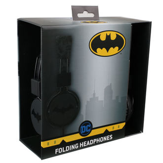 Headphones Batman - Black Logo
