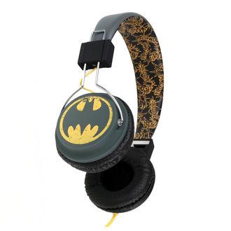 Headphones Batman - Vintage Logo