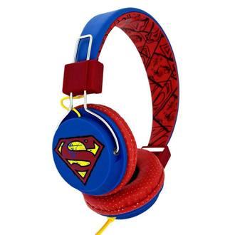 Headphones Superman - Vintage Logo