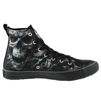 High Sneakers Men's SPIRAL - CAMO-SKULL - Sneakers