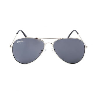 Sunglasses MEATFLY - SCOTT - A - 4/17/55 - Silver - Black, MEATFLY