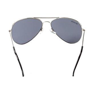 Sunglasses MEATFLY - SCOTT - A - 4/17/55 - Silver - Black - MEAT149