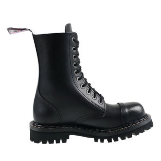 leather boots unisex - STEADY´S - STE/10_black