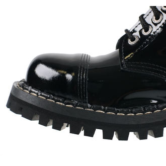leather boots unisex - STEADY´S - STE/10_glossy black