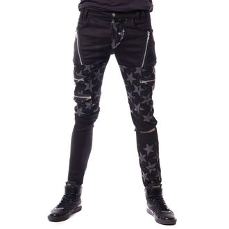Pants Men's VIXXSIN - STAR CHAOS - BLACK, VIXXSIN